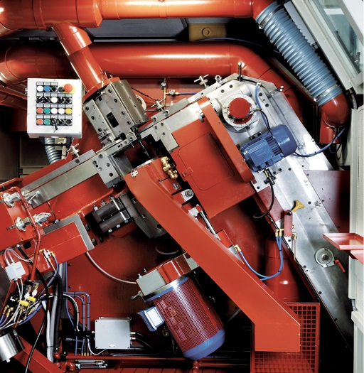sacma, header, combined, machine, precision, production, manufacturing, precision, station,finger, shank, micrometric system, automotive, thread rolling station, motion, single starter, dies, eccentric mechanism, fixed roll die, 3 dimensions