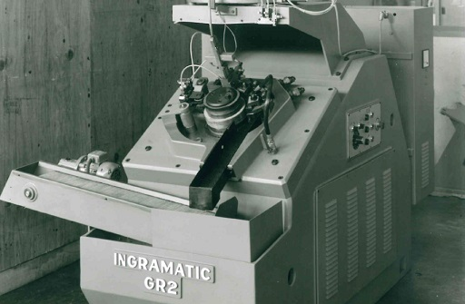 Structure, Ingramatic, 1966, screws, fasteners, production, distribution, thread rolling machines