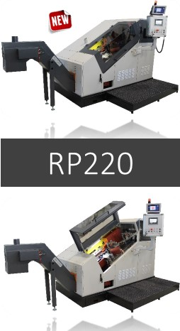 World Premiere - Ingramatic is introducing the new RP220 (W10/TR2) machine