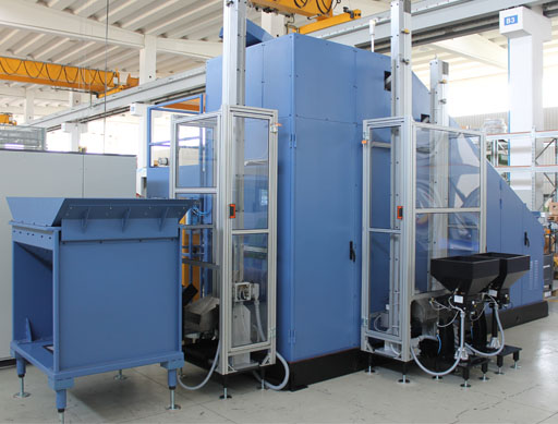 Washer Blank Porter Unit, ingramatic,  Porter, parts, automatic, vibrator, production system, autonomy, thread rolling machines, transport unit, vibrators, fixed column, feeder
