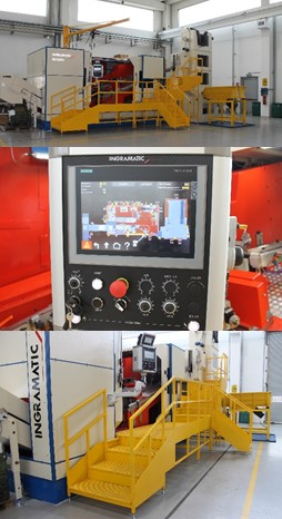 THE NEW MAXI THREADING AND FORMING MACHINE MODEL RP920