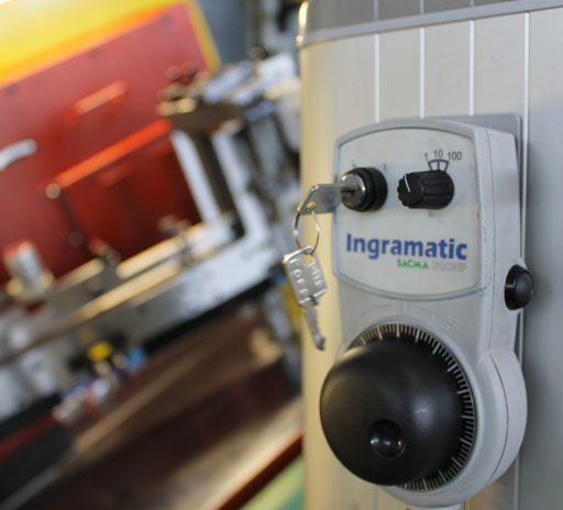Winning Technologies, Ingramatic, ELEKTRONISCHES HANDRAD